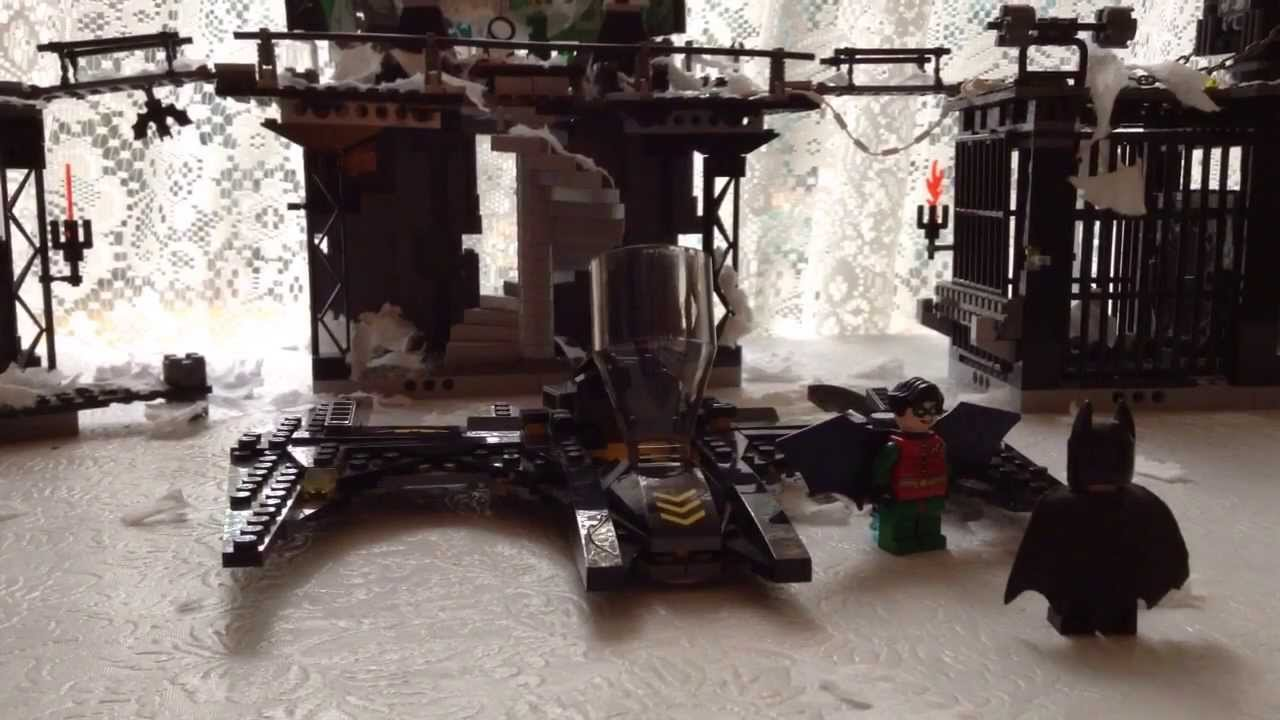 Lego Batcave Dark Knight Lego The Dark Knight a Toilet