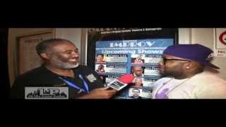 Chico Bean at Addison Improv talks to L.P. On the Scene Dallas 2013