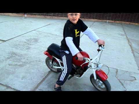 Mini moto para niños