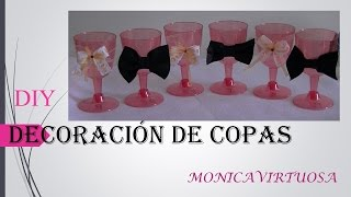 copas decoradas