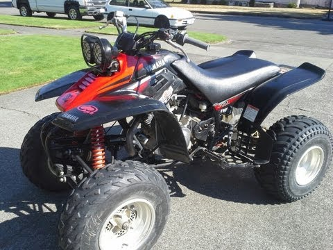 2003 Yamaha Warroir 350 for sale lynden wa quad atv