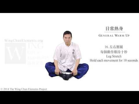 Warm Up Exercise for Daily Wing Chun Training (詠春日常練習熱身運動) Image 1