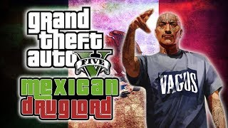 Mexican Drug Lord On GTA 5 - (GTA V Fails Funny Moments)