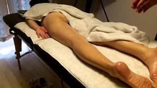 性感マッサージのデモ動画その6 左足 Japanese erotic sex massage Demo 6