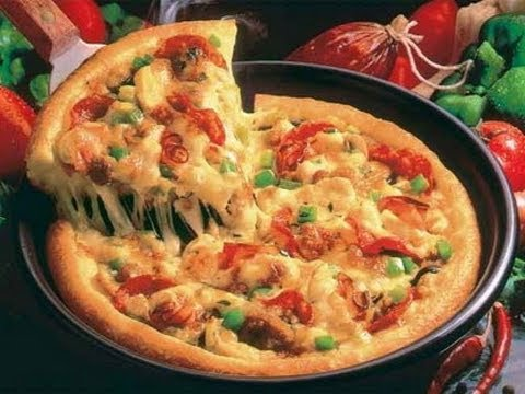 Пицца на сковороде за 10 минут/Pizza In A Pan