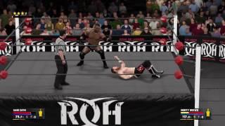 Monty Brown POUNCE finisher WWE 2k17