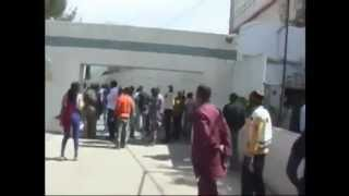Angry Nigerian Citizens Vandalizing Their Embassy In Senegal _ Raw Footage