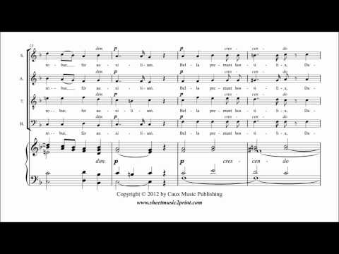 Гуно Шарль Франсуа - O salutaris (duet)