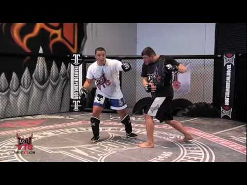 Kickboxing Training: Left Hook Left High Kick Trick with Pat Barry Image 1