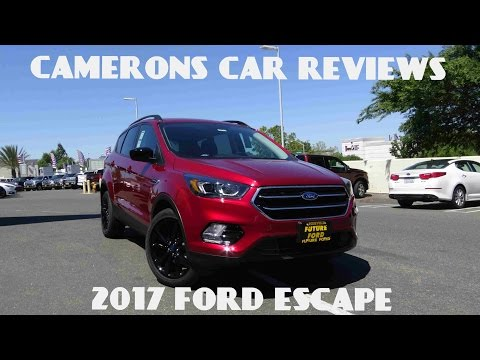 2017 Ford Escape SE 1.5 L 4-Cylinder Turbo Review | Camerons Car Reviews
