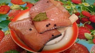 Засолка красной рыбы Рецепт как приготовить блюдо пошагово вкусно домашние классический быстро видео