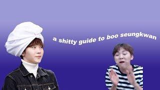 a shitty guide to boo seungkwan