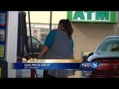 Gas prices falling in the metro