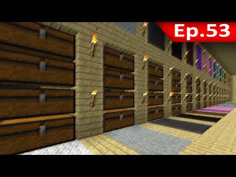 Tackle⁴⁸²⁶ Minecraft 1.7.9 #53 Farm ขนแกะ: เครื่องคัดแยก