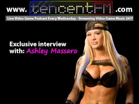 """Do you play video games?"" featuring Ashley Massaro (former WWE Diva, Playboy bunny)."