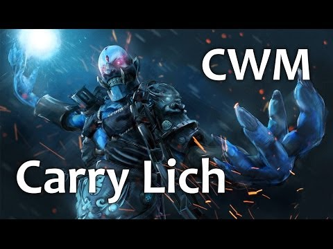 ComeWithMe Carry Lich | Dota 2 gameplay