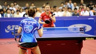 Japan Open 2013 Highlights: Ai Fukuhara vs Hjunjung Moon (Final)