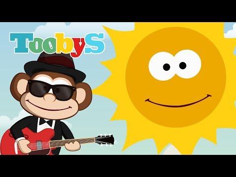 Canzone del sole - Filastrocche per i bambini - Toobys