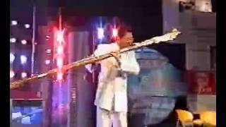 Huge Dizi 笛子 Played By Liu Hua 39 Nan 刘华男 Of Hohhot Inner Mongolia China