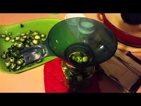 How to can pickled jalapenos