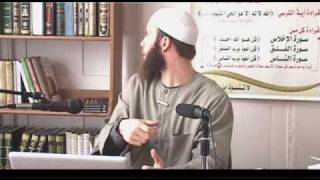 Video: From Youth Christian Minister to Islam - Joshua Evans 3/3