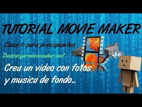 Como editar tus videos Facil y Rapido con Movie Maker