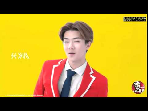 ENGSUB 141225 EXO x KFC wake up call   Sehun