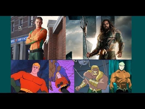 Aquaman - Evolution in TV & Cinema