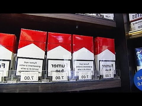 La lutte anti-tabac se corse en France