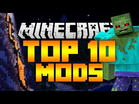 Top 10 Minecraft Mods (Minecraft 1.9/1.8.9) - 2016 [HD]
