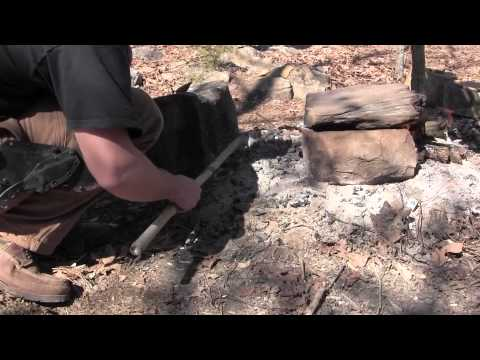 Bushcraft Cooking   Mud Baking Fish