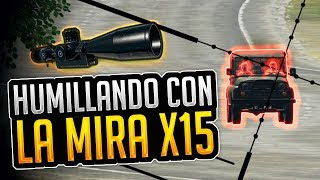 ¡REPARTIENDO MOCHAS CON LA X15! - PLAYERUNKNOWN'S BATTLEGROUNDS (PUBG) GAMEPLAY ESPAÑOL   Winghaven