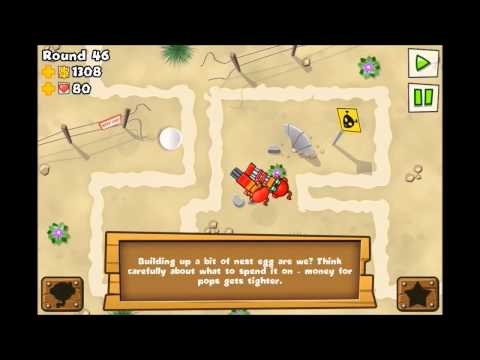 Bloons Tower Defense 5 - Rosewell (Hard) iPhone/iPod/iPad