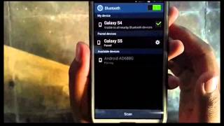 Samsung Galaxy S4 : How to share music via Bluetooth (Android Kitkat)