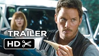 Video clip Jurassic World Official Trailer #1 (2015) - Chris Pratt, Jake Johnson Movie HD