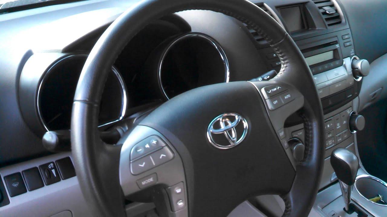 2009 Toyota Highlander Sport Youtube