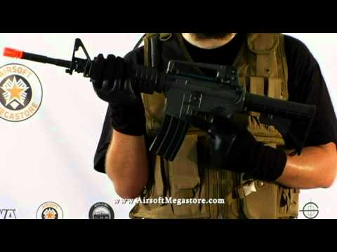 Airsoft Megastore Review! JG M4A1 and M733 (M4 Commando) Full Metal Gearbox AEG Rifles
