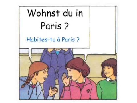 Cours d'allemand - Débutant - Leçon 1