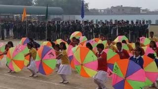 """Annual Sports Meet """"Umbrella drill """" at Bijendra Public School Purnea"""