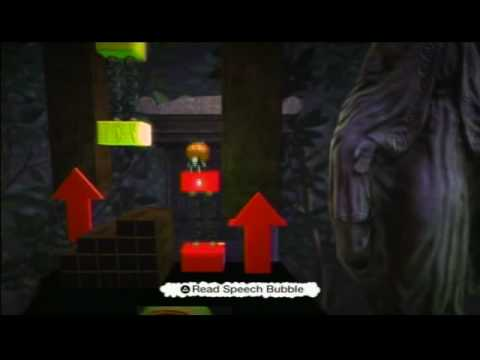 SPOOKYTOWN - little big planet gameplay - PS3 - LBP