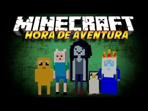 Minecraft - Mapa de Hora de Aventura + Texture Pack + Descarga.