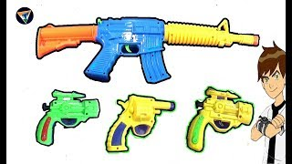 Kids play with Soft Bullet Automatic Toy Gun - Toy Gun for kids