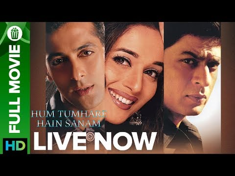 Hum Tumhare Hain Sanam  | Full Movie LIVE On Eros Now | Shahrukh Khan, Salman Khan, Madhuri Dixit