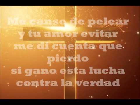 Te dejo ganar Jesus Adrian Romero Pista Karaoke - YouTube