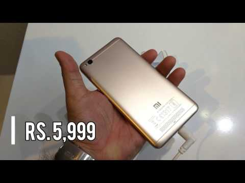 Redmi 4A Launched, Price Rs. 5,999 (quick Look) In Hindi