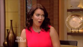 Bellamy Young Live! With Kelly and Michael 2015 05 07
