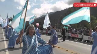 Masiva  participación en el acto conmemorativo en la localidad de León