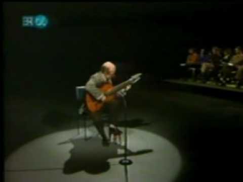 Rare Guitar Video: Narciso Yepes plays Canarios by Gaspar Sanz