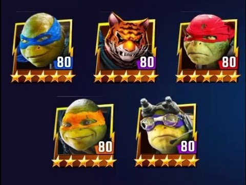 Teenage Mutant Ninja Turtles Legends Best Team | Best Strategy | Best Combination