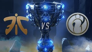 Fnatic ( FNC ) vs Invictus Gaming ( IG ) 3. Maç | Worlds 2018 Final